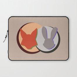 Nick and Judy Logo Design  Laptop Sleeve