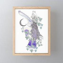 The Forest Framed Mini Art Print