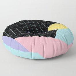 Memphis Pattern 7 - 80s - 90s - Retro Floor Pillow