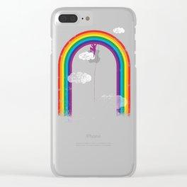 al settimo cielo Clear iPhone Case