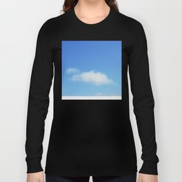 Snow and clouds in Iceland Long Sleeve T-shirt