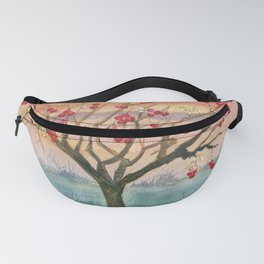 Apple Tree in Autumn Fanny Pack