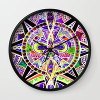 "lee pace Wall Clocks featuring ""pace"" by Rachna Radar"