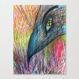 NORDIC MAGIC - CROW Canvas Print