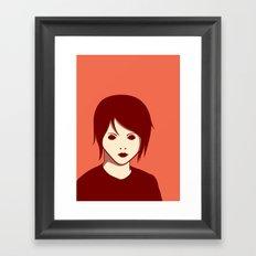 Emo Boy Framed Art Print
