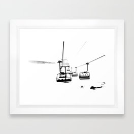 Winter Fog Framed Art Print