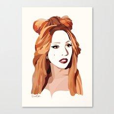 Monster Goddess Canvas Print