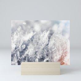 Winter Hoarfrost Mini Art Print