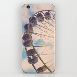Love Wheel iPhone Skin