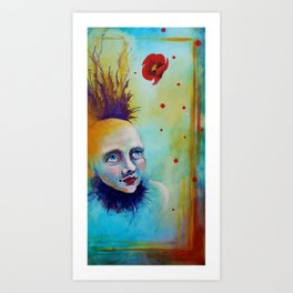 Circus is Waiting by Gretchen Smith Art Print