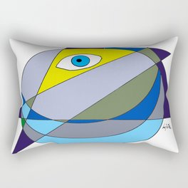 Seeing in to the FUTURE                         by Kay Lipton Rectangular Pillow