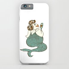 sel-fish mermaid iPhone 6s Slim Case