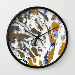 yoshua tree Wall Clock