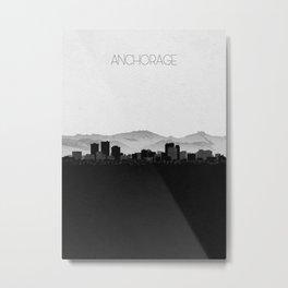 City Skylines: Anchorage Metal Print