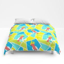 Bright Cockatoo Comforters