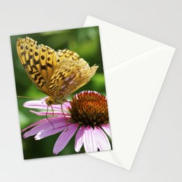 Variegated Fritillary Butterfly Stationery Cards