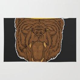 Smokey the Bear Rug