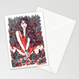 Three Eyed Girl Stationery Cards