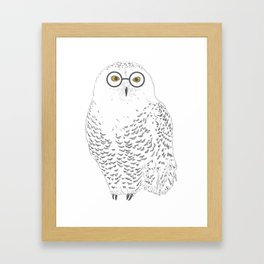 You-Know-Hoo? Framed Art Print