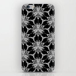 Floral geometric iPhone Skin