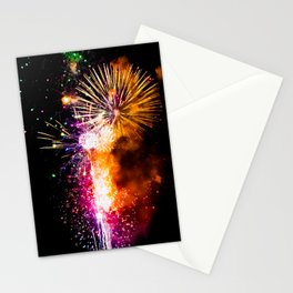 Fireworks Display Addison Texas Kaboom Town 2017 Stationery Cards
