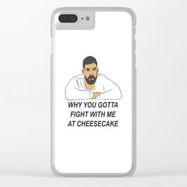 Drake Childs Play Clear iPhone Case