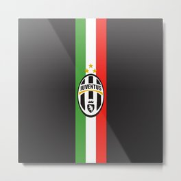 team juventus Metal Print
