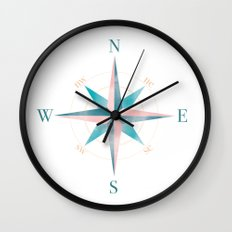 Sedna Map Wall Clock