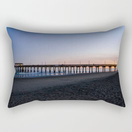 Sunset at the Tybee Island Pavillion Rectangular Pillow