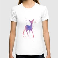 fawn T-shirts featuring Fawn by Carma Zoe