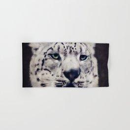 Snow Leopard Hand & Bath Towel