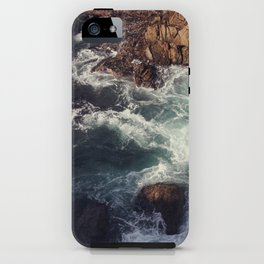 swirling current iPhone Case