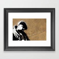 The Notorious B.I.G. - Biggie Smalls Framed Art Print