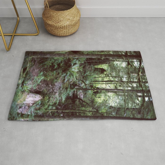 Vancouver Island Rainforest Rug By