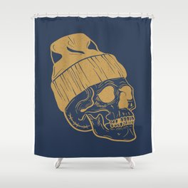 'Hipsters Never Die' Shower Curtain
