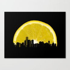 super lemon Canvas Print