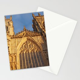 York Minster Towers Stationery Cards