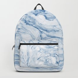 Light navy marble Backpack