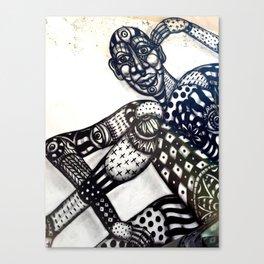 Tel Aviv Street Art and Graffiti Canvas Print