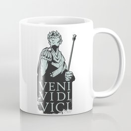 Veni Vidi Vici Julius Caesar Roman Coffee Mug