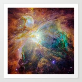 View of Orion Nebula Art Print