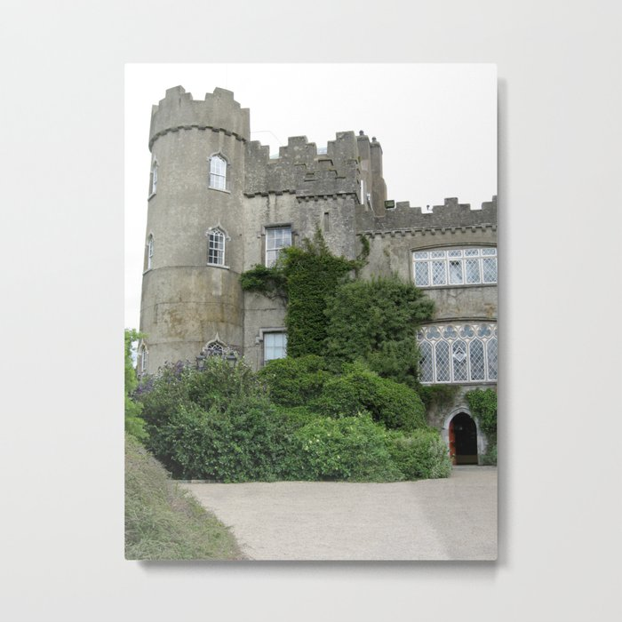 Malahide Castle Metal Print