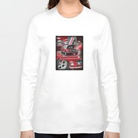 mustang Long Sleeve T-shirts featuring 1966 Mustang  by Andrew Sliwinski