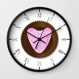 Chocolate Box Heart Wall Clock