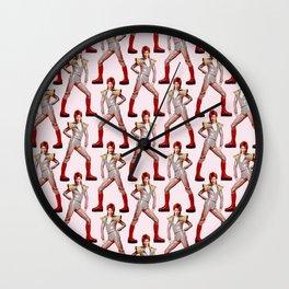 David Bowie Fashion Wall Clock