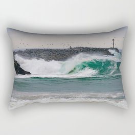 The Jetty Grind Rectangular Pillow
