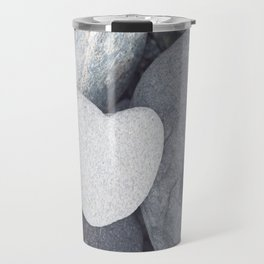 Heart Shaped Rock Travel Mug