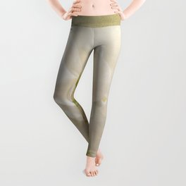 White Orchids Leggings