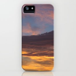 Sky on Fire. iPhone Case