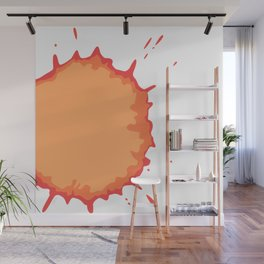 Splat on White - by Friztin Wall Mural